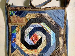 Шьем из старых джинсов. Сезон 2, серия 3. Лоскутная сумка. Начало. Ярмарка Мастеров - ручная работа, handmade.