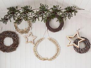 Рождественские венки в интерьере. Ярмарка Мастеров - ручная работа, handmade.