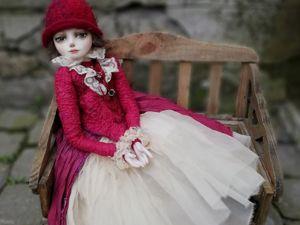Скидка 20% на авторскую куклу  «Победительница». Ярмарка Мастеров - ручная работа, handmade.