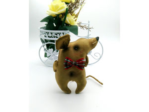 Шьем кофейного Крыса. Ярмарка Мастеров - ручная работа, handmade.
