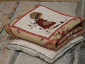 Мастер-класс № 13. Создаем постель для кукол.. Ярмарка Мастеров - ручная работа, handmade.