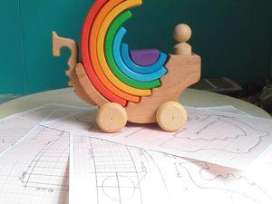 Открыта продажа Чертежей моделей игрушек. Ярмарка Мастеров - ручная работа, handmade.
