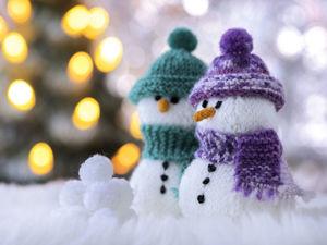 Путешествие снеговика во времени. Ярмарка Мастеров - ручная работа, handmade.