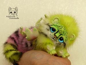 Новый зверек, Ахисмио Тигровый. Ярмарка Мастеров - ручная работа, handmade.