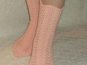 Скидка на вязаные носочки 25%. Ярмарка Мастеров - ручная работа, handmade.