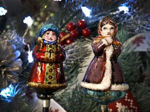 Реставрация или обновление советской елочной игрушки Морозко. Ярмарка Мастеров - ручная работа, handmade.