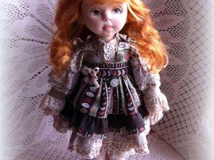 Текстильная кукла Злата. Ярмарка Мастеров - ручная работа, handmade.