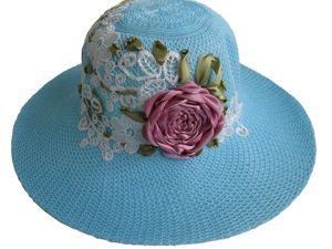 Шляпа  «Lacy Story». Ярмарка Мастеров - ручная работа, handmade.