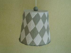 """Светильник """"Шотландка"""". Коллекция """"Ткань"""" (Video). Ярмарка Мастеров - ручная работа, handmade."""