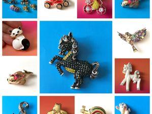 Аукцион  25-26 ноября. Забавные украшения. Ярмарка Мастеров - ручная работа, handmade.
