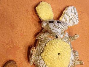 Шьем мышь ячменную, полезную, многофункциональную. Ярмарка Мастеров - ручная работа, handmade.