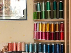 Ниточки для машинной вышивки !!!. Ярмарка Мастеров - ручная работа, handmade.