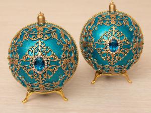 Набор елочных шаров. Ярмарка Мастеров - ручная работа, handmade.