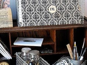Идея: коробка из строительной сетки. Ярмарка Мастеров - ручная работа, handmade.
