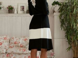 Аукцион на вязаное платьице! Старт 2500 руб.!. Ярмарка Мастеров - ручная работа, handmade.