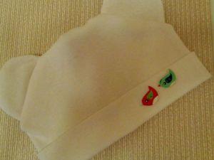 Шьем шапочку для малыша. Ярмарка Мастеров - ручная работа, handmade.