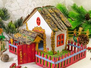 Новинка — игрушечный домик. Ярмарка Мастеров - ручная работа, handmade.