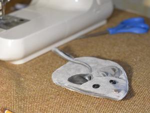 Создаем мышку-прихватку к Новому Году. Ярмарка Мастеров - ручная работа, handmade.