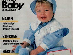 Burda Special Unser Baby 1986, E 861. Ярмарка Мастеров - ручная работа, handmade.