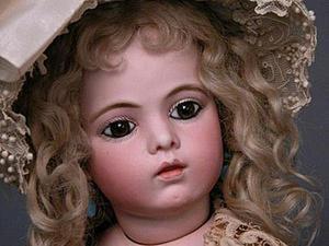 Восхитительная кукла Bru Jne в репродукциях современных мастеров. Ярмарка Мастеров - ручная работа, handmade.
