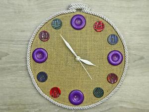 Создаем креативные часы: видео мастер-класс. Ярмарка Мастеров - ручная работа, handmade.