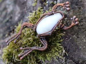 Wire Wrapping a Сopper Froggie, or the Taming of the Shrew. Livemaster - handmade