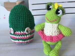 Как связать принцессу-лягушку. Ярмарка Мастеров - ручная работа, handmade.