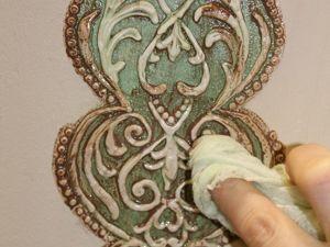 Декорируем полку из старых досок. Ярмарка Мастеров - ручная работа, handmade.