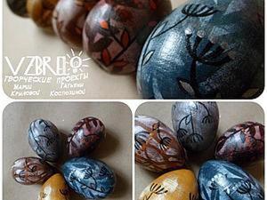 Роспись деревянных яиц. Ярмарка Мастеров - ручная работа, handmade.