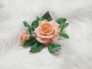 Сборка розы из полимерной глины. Ярмарка Мастеров - ручная работа, handmade.