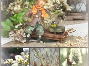 С Вербным Воскресеньем, дорогие!!!. Ярмарка Мастеров - ручная работа, handmade.