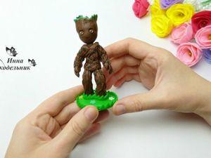 Видео мастер-класс: как сделать Грута из полимерной глины. Ярмарка Мастеров - ручная работа, handmade.