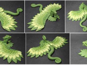 Лепим цветочного дракончика из полимерной глины. Ярмарка Мастеров - ручная работа, handmade.