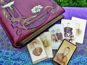 Загляните в семейный альбом эпохи Ар-нуво. Ярмарка Мастеров - ручная работа, handmade.