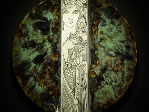 Новая тарелка на старый лад. Ярмарка Мастеров - ручная работа, handmade.