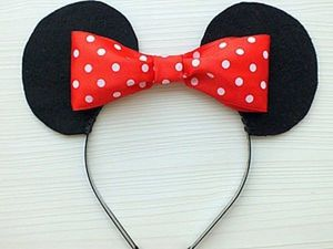 Creating a Minnie Mouse Headband for Kids. Livemaster - handmade