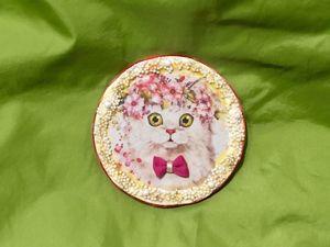 Creating Cute Cat. Livemaster - handmade