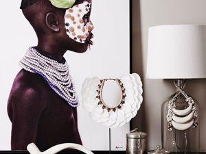 Африканский стиль в интерьере. Ярмарка Мастеров - ручная работа, handmade.