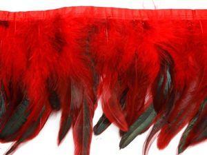 Распродажа перьев!!! При покупке  «Под остаток»  — 57 руб/метр. Ярмарка Мастеров - ручная работа, handmade.