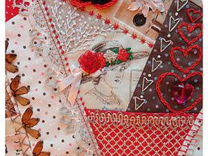 Делаем сами Crazy Quilt. Часть 1. Ярмарка Мастеров - ручная работа, handmade.