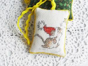 Аукцион с нуля на новогоднюю вышивку. Ярмарка Мастеров - ручная работа, handmade.