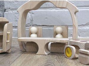 Как сделать кукольный домик. Ярмарка Мастеров - ручная работа, handmade.