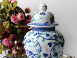 Дополнительные фотографии имбирной банки, вазы. Ярмарка Мастеров - ручная работа, handmade.