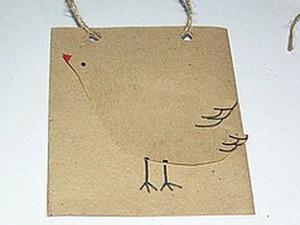Бумажная сумочка для мелких подарков и визиток. Ярмарка Мастеров - ручная работа, handmade.