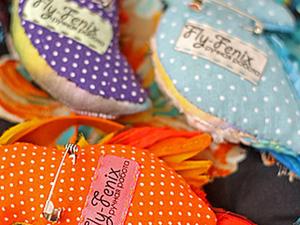 Мини-мастер-класс: текстильный задник для броши. Ярмарка Мастеров - ручная работа, handmade.