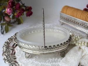 Дополнительные фотографии антикварного блюда для масла/джема. Ярмарка Мастеров - ручная работа, handmade.