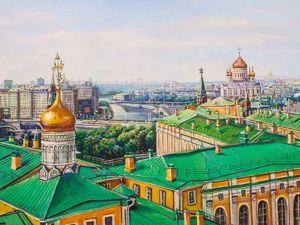 Москва... как много в этом звуке. Ярмарка Мастеров - ручная работа, handmade.