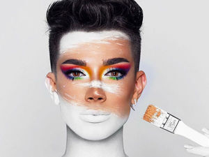 Makeup is My Palette, My Face is My Canvas: Makeup as Art by James Charles. Livemaster - handmade