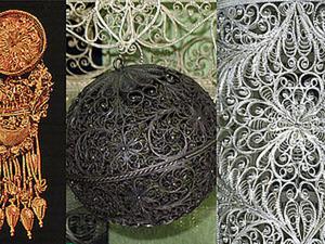 Скань (филигрань) — редкая техника тончайших узоров. Ярмарка Мастеров - ручная работа, handmade.