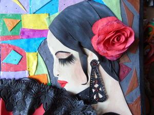 Объемная картина  «Кармен». Ярмарка Мастеров - ручная работа, handmade.